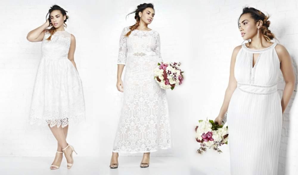 ADDITION ELLE plus size bridal wear