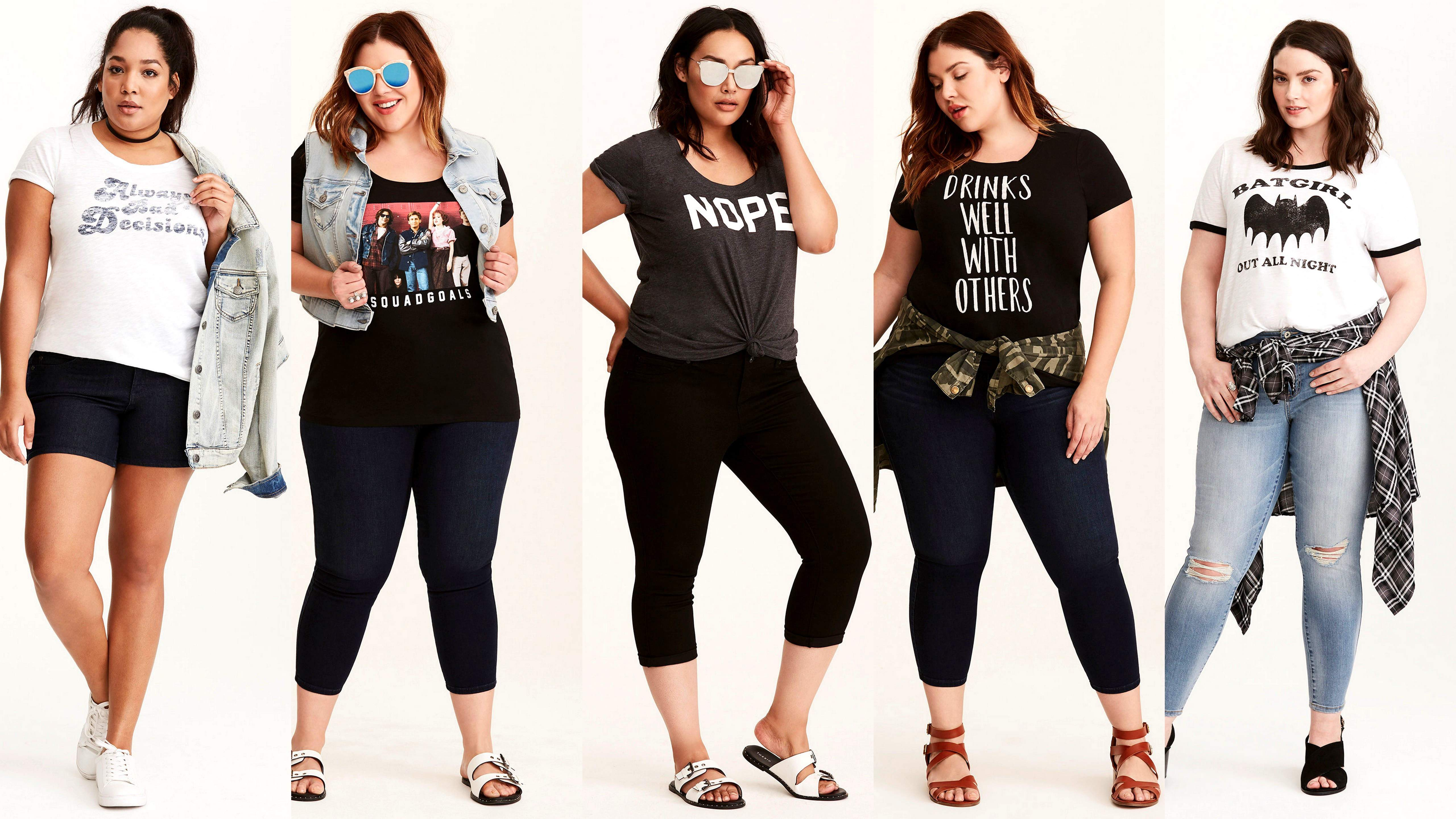 Go Graphic! 10 Tees From Torrid You Need This Spring!!