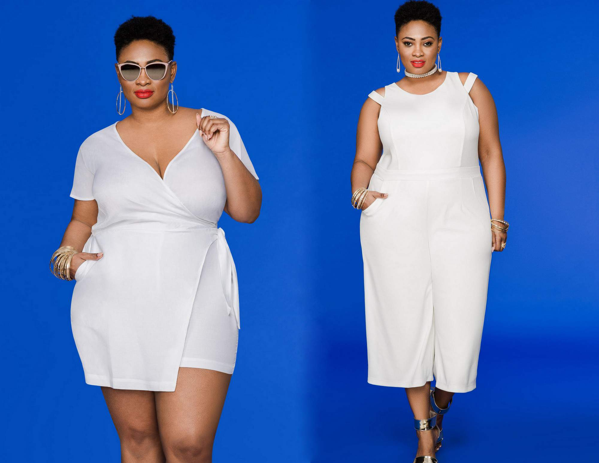 Plus SIze Spring White Must Haves