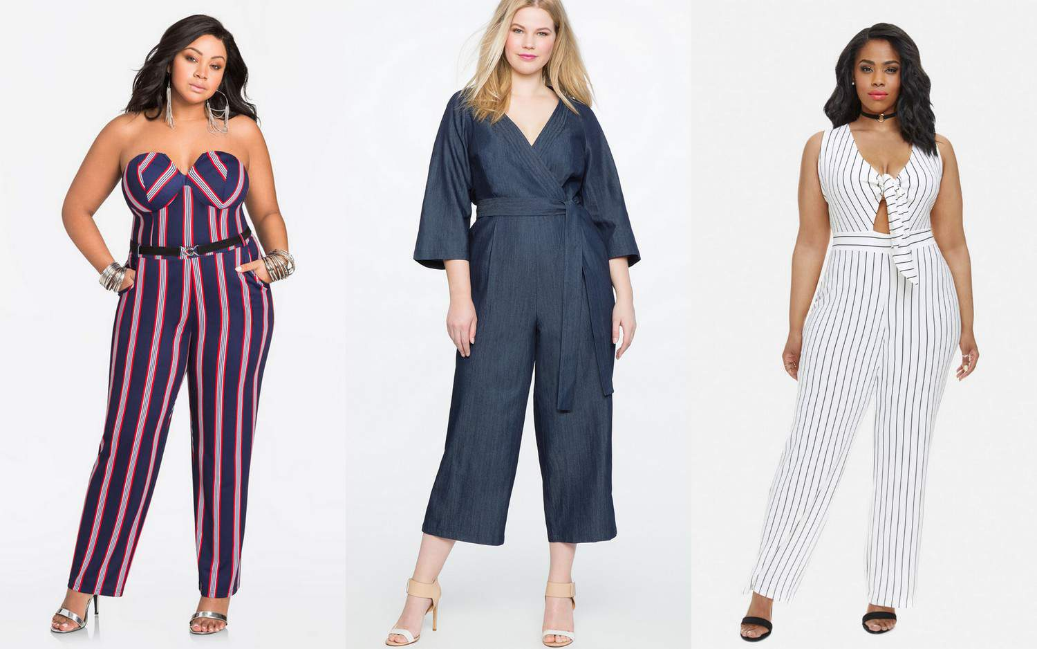 How do you feel about jumpsuits? Are you on the hunt for the perfect plus size jumpsuit for the spring into summer? Well, we found 14 awesome plus sized picks!