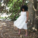 Marie Denee, The Curvy Fashionista, city chic, plus size white dress