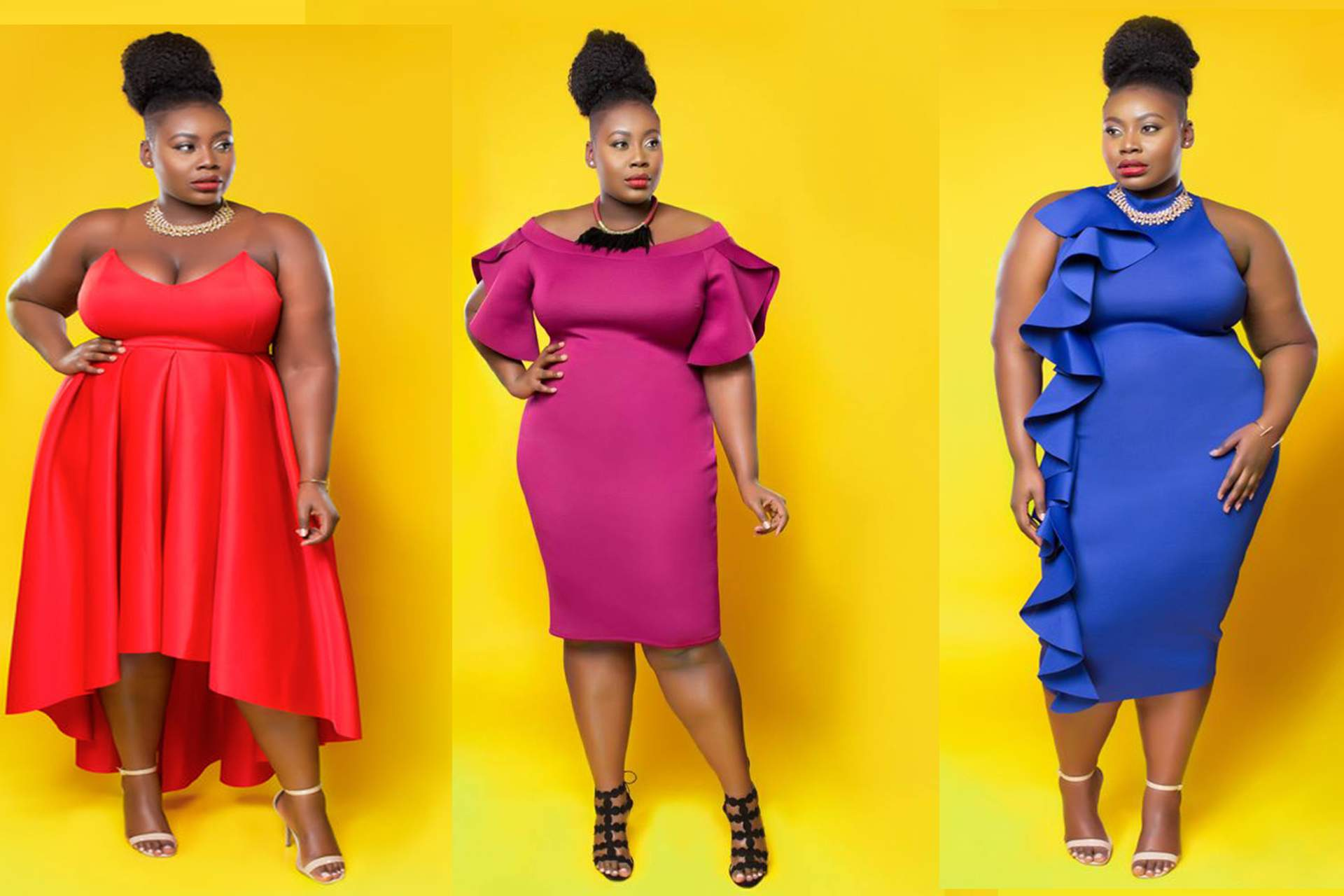plus size dress, midi dress, flaunt your curves, new plus size designer, Love Creed, plus size fashion statements