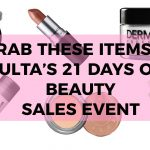 Ulta 21 Days of Beauty Sale