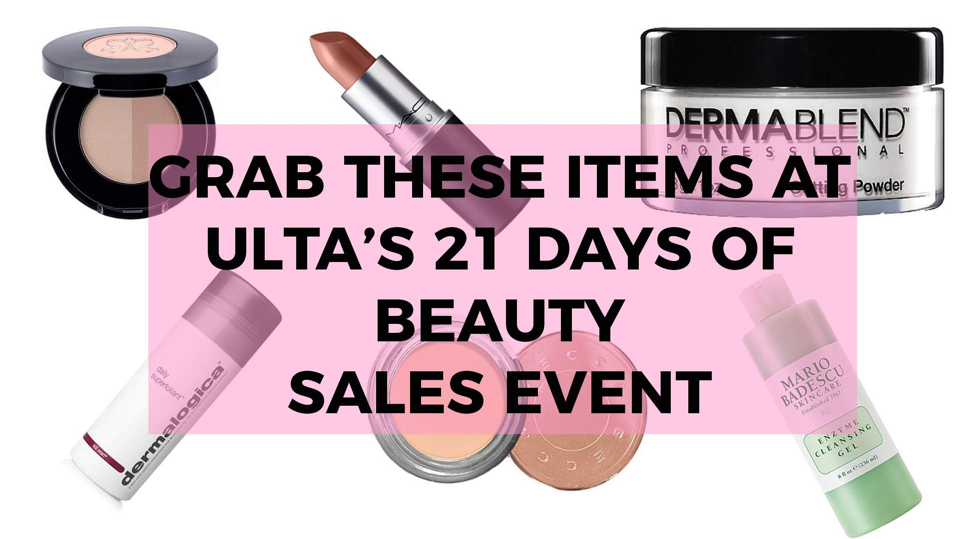 Ulta 21 Days of Beauty Sale