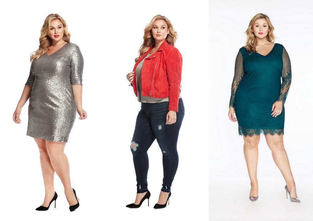 The Rebel Wilson x Angels Plus Size Holiday Collection