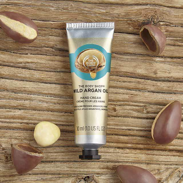 Wild Argan Oil Hand Cream by The Body Shop
