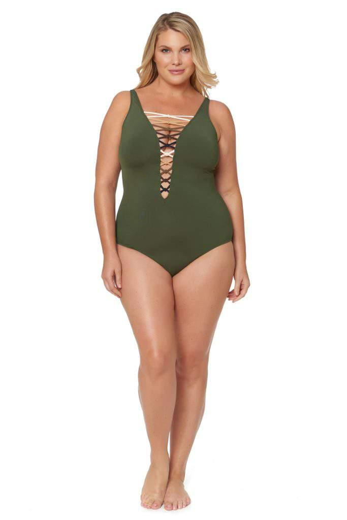 urban plus size swimwear