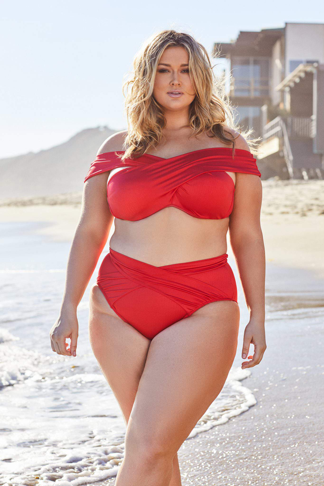 Hunter McGrady x Playful Promises Swim Campaign