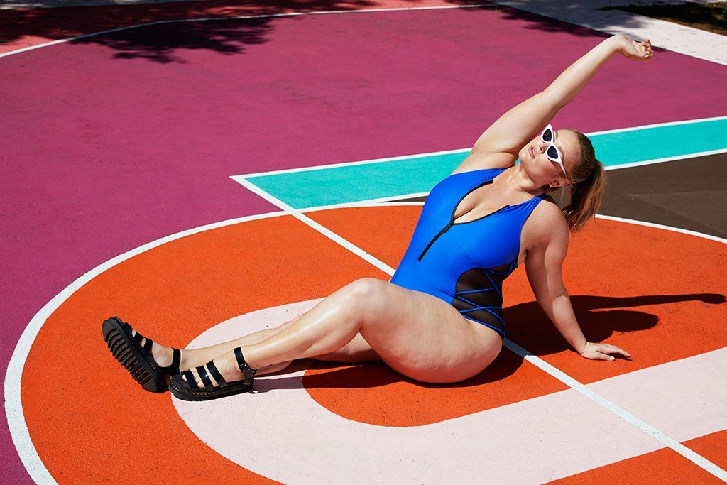 The Chromat Plus Size Swim Collection