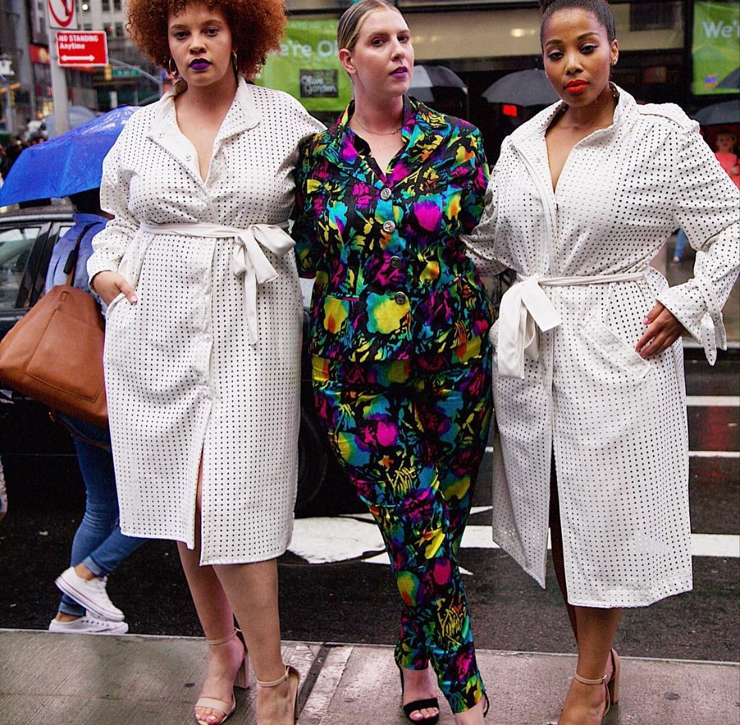 Plus Size Indie Designer- Bella Renee at NYFW