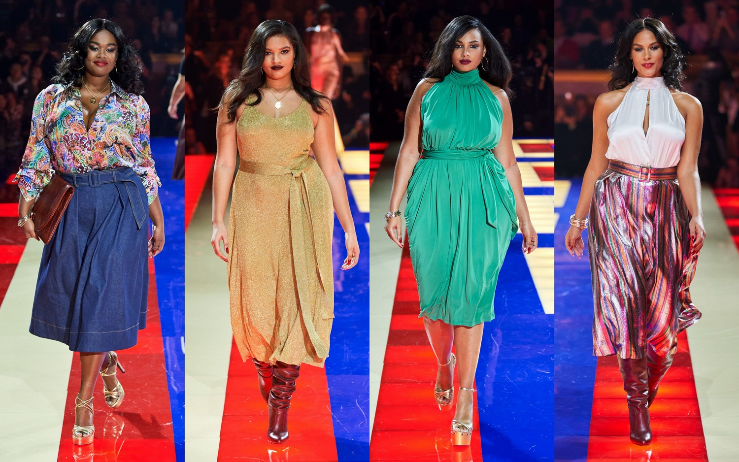 Zendaya x Tommy Hilfiger Collection in Plus Sizes aya x Tommy Hilfiger Collection in Plus Sizes