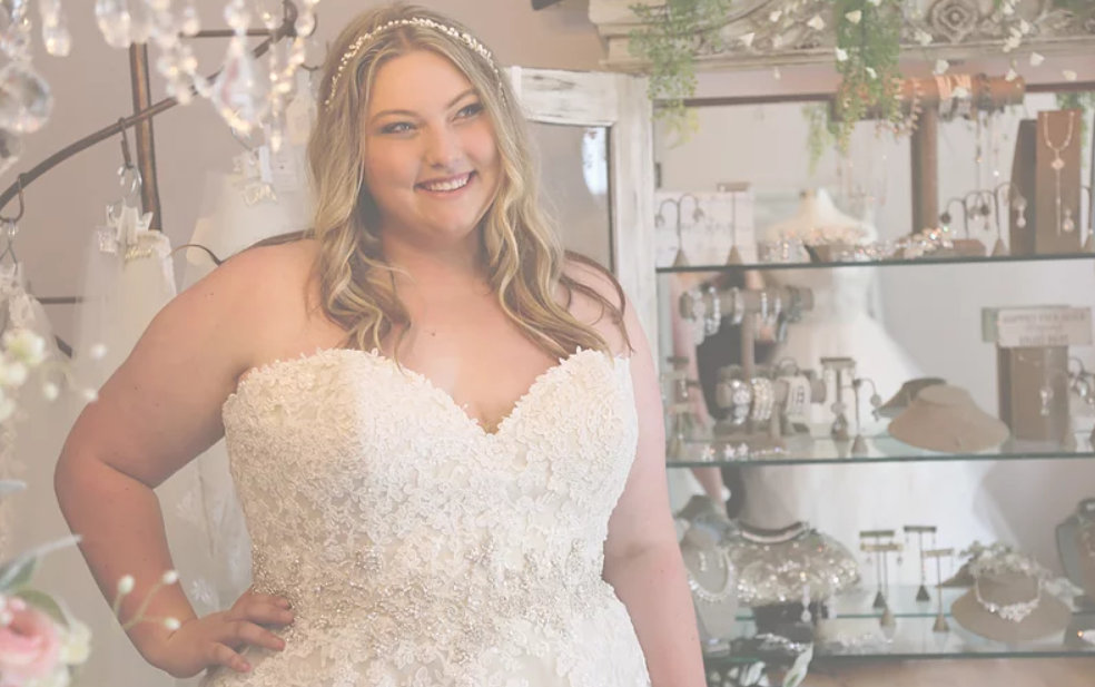 Ivory and Main plus size bridal boutique in New York