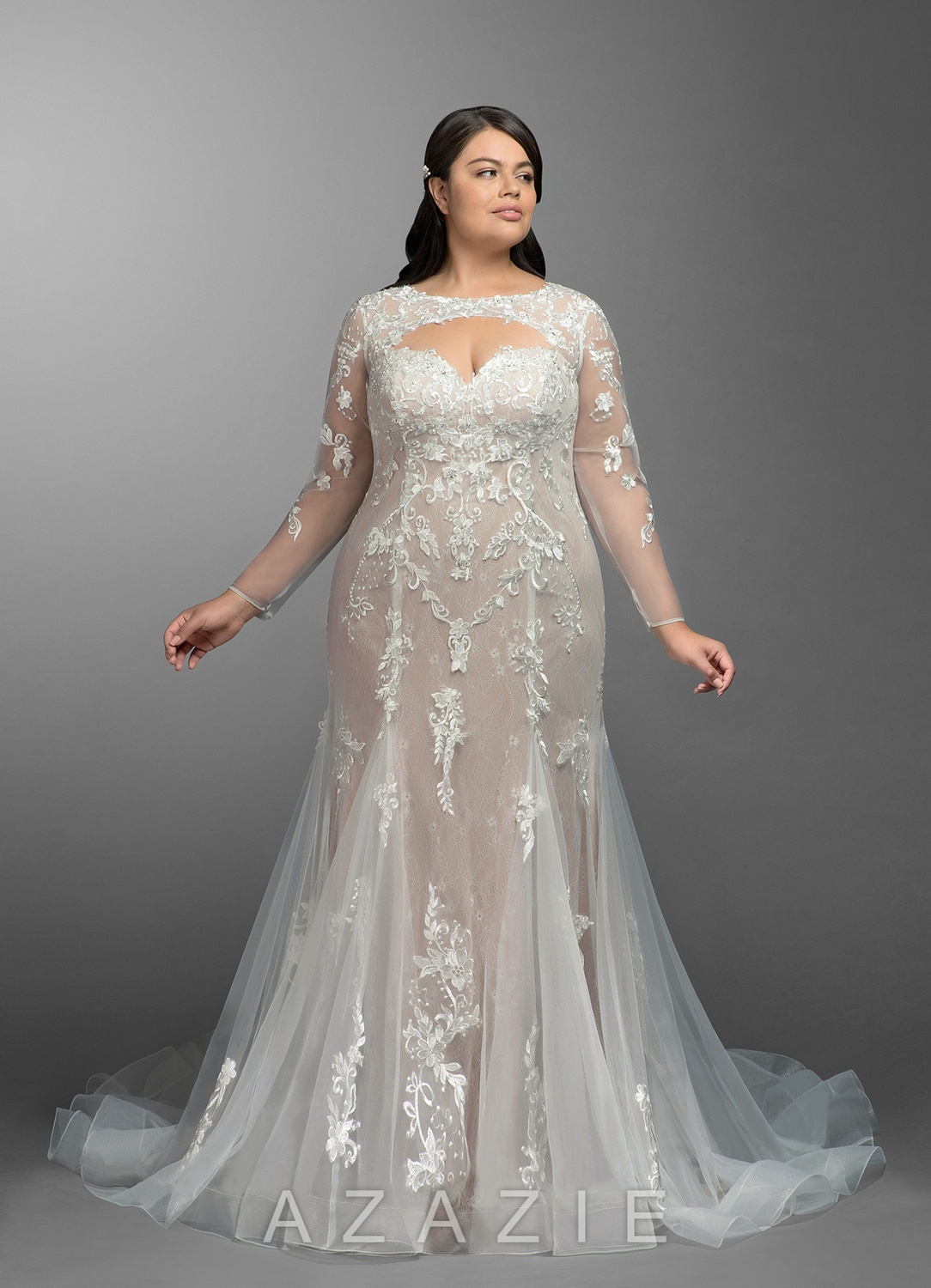 Here are 15 Must Have Azazie Plus Size Wedding Gowns UNDER $600!