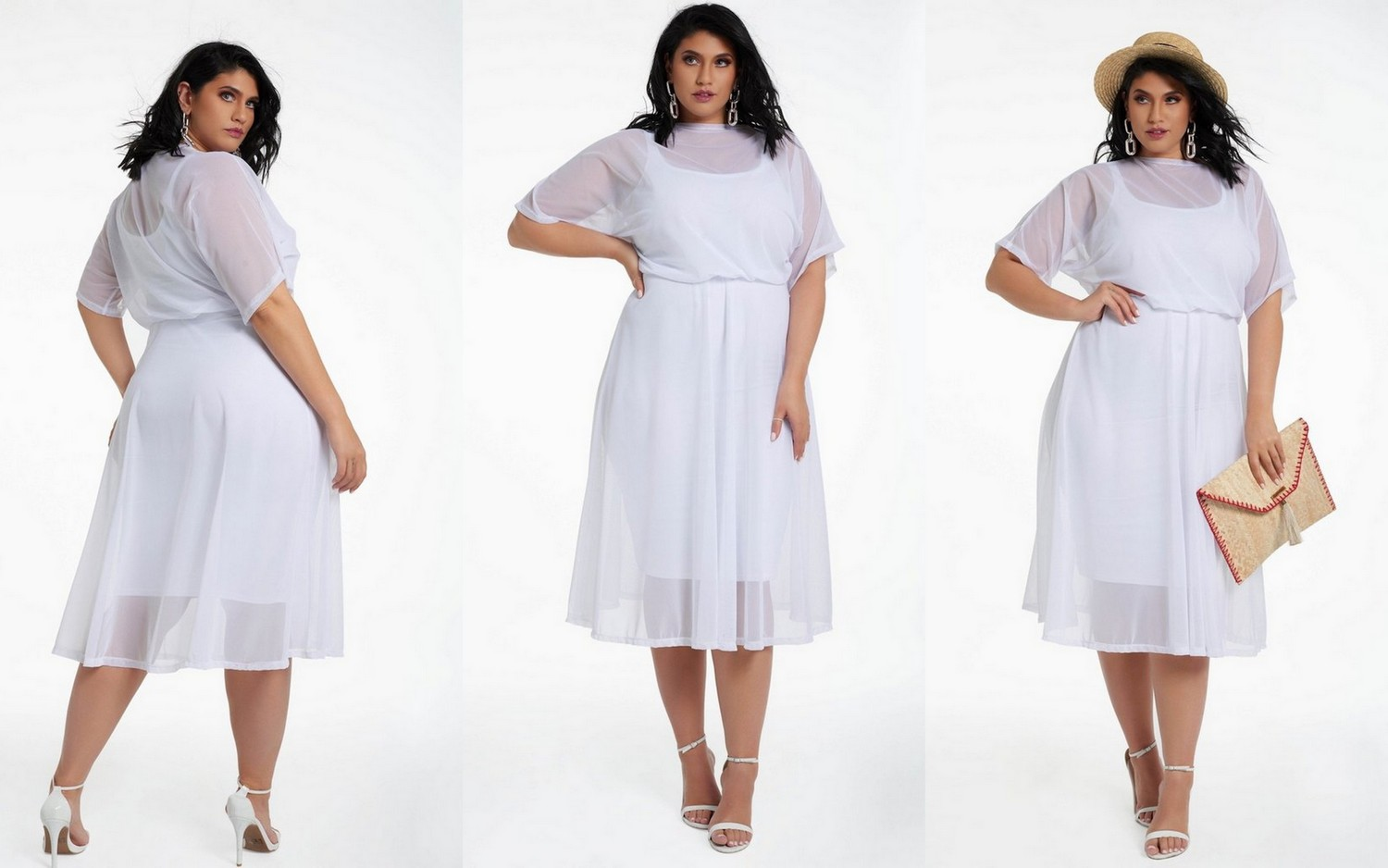 20 of Summer's Hottest Plus Size White Dresses You'll want to Rock Now!