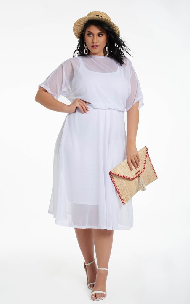 Where to Shop for Summer\'s Hottest Plus Size White Dresses!
