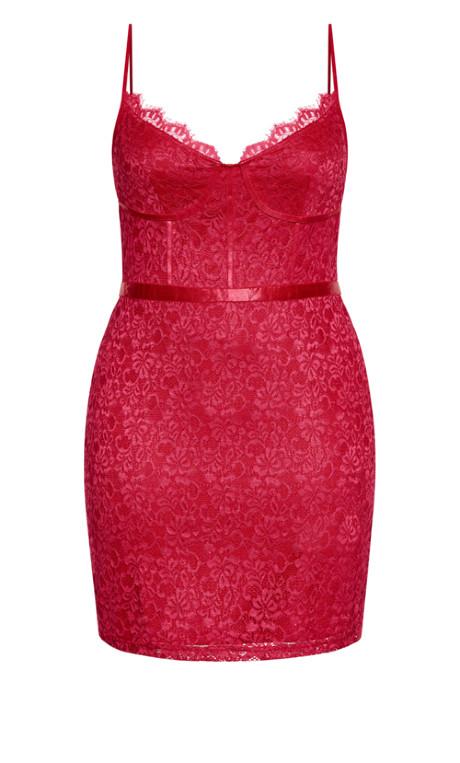 City Chic Sassy Lace Dress