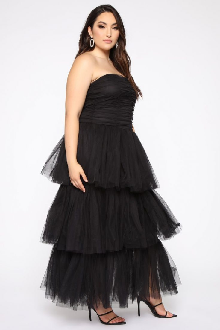 Adore A Ball Tiered Tulle Gown