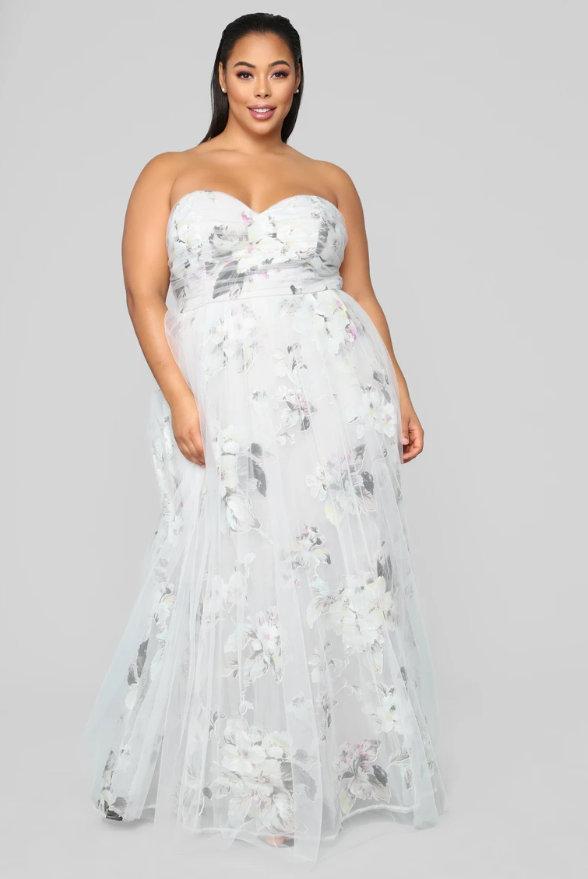 Mystic Desire Floral Maxi Dress