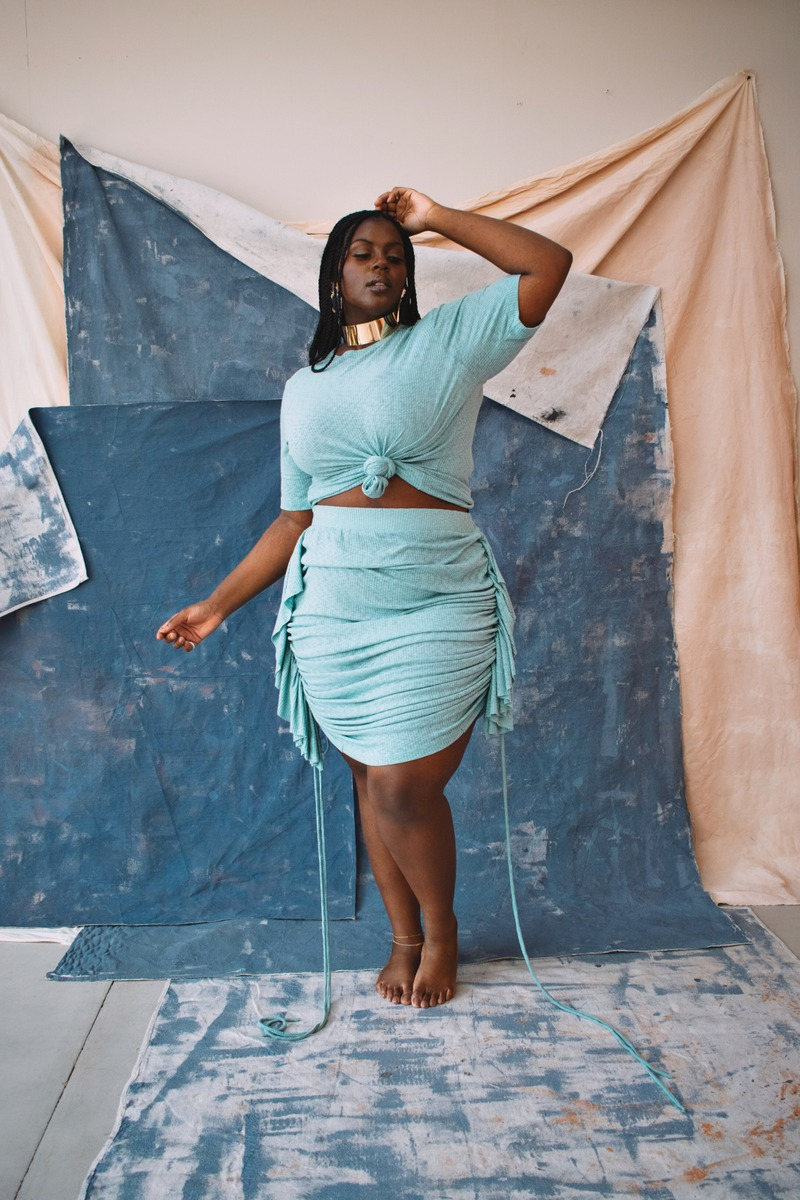 Zelie for She Resort Plus Size Collection- Ocean Drive Set