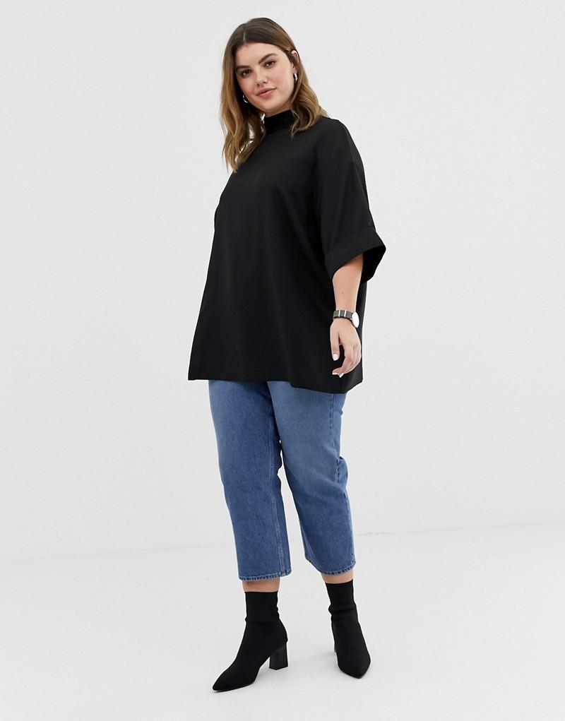 ASOS DESIGN Curve oversized minimal top up through size 28