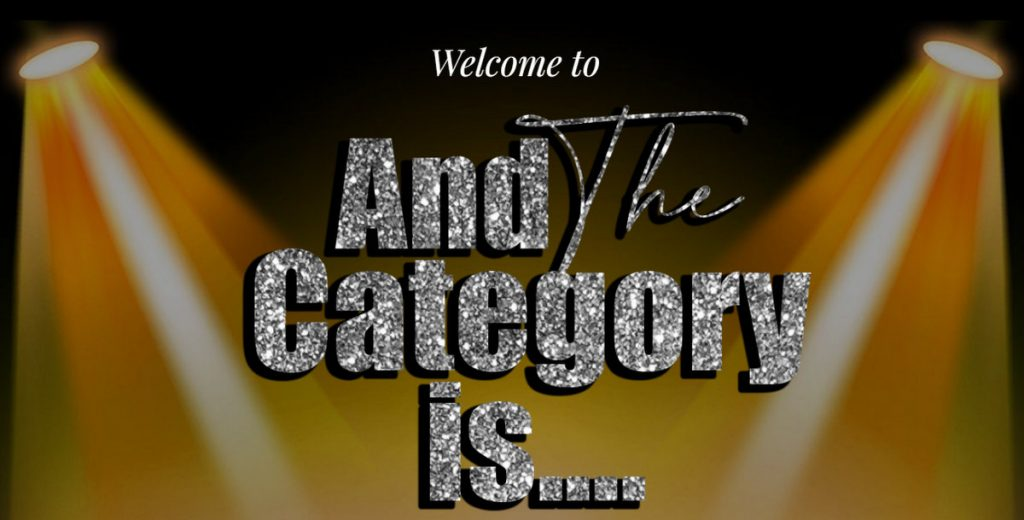 And the Category Is by Ms Nickee of DIva Day International