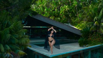 Fashion to Figure Launches New Plus-Size Swim Collection with Model Tabria Majors
