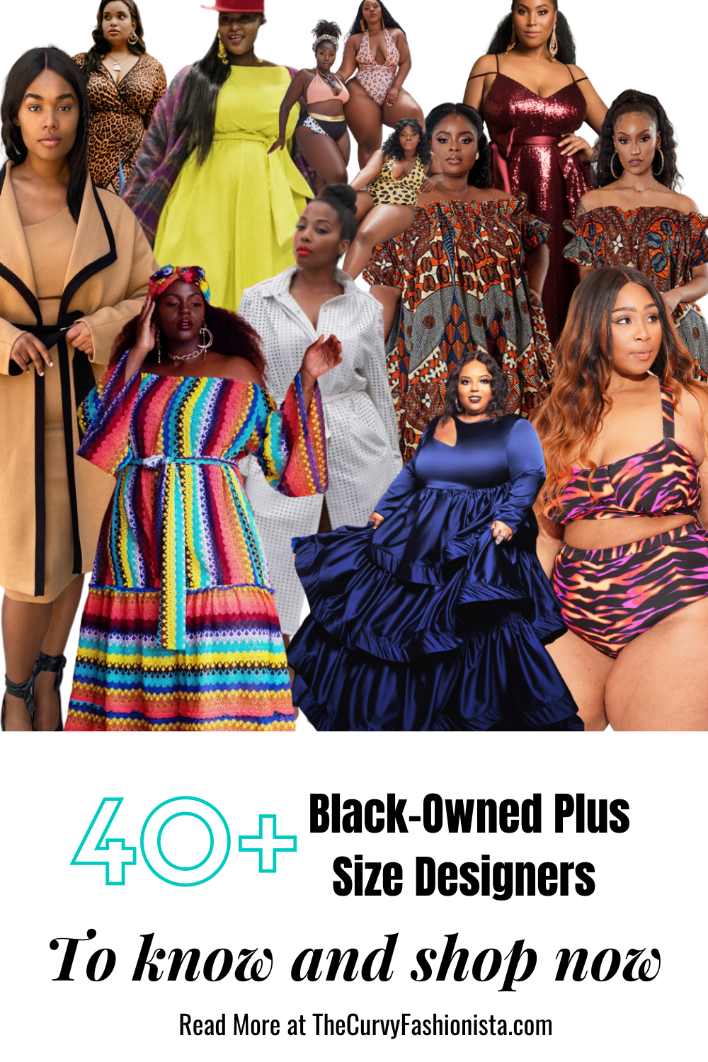40+ Black owned Plus Size Designers