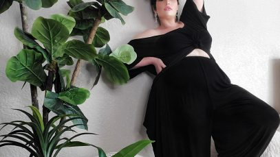 Plus size lounge wear by Jibri