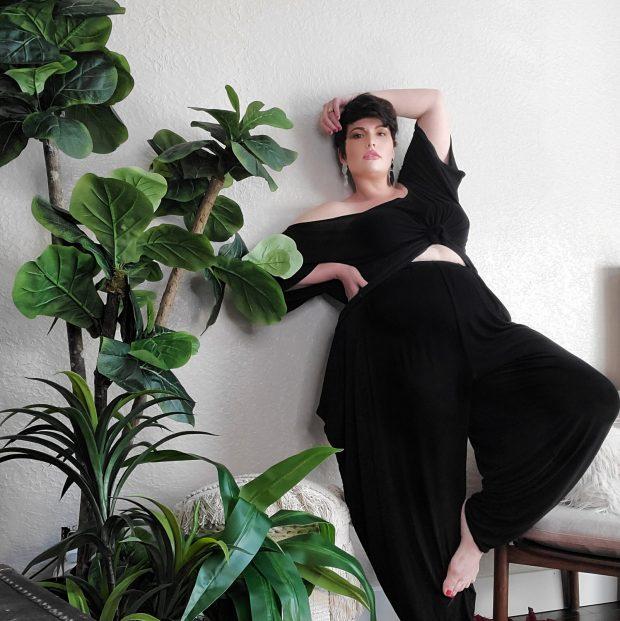 Plus size lounge wear by Jibri